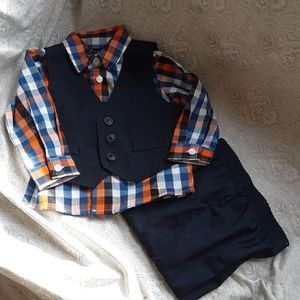 Nautica Baby Boy Outfit - 3-6 months - 3 piece